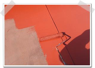 見サビ止め塗料は、強力にサビを抑えて、なおかつ環境に優しいものを塗装しました。