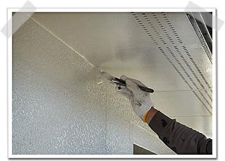外壁サイディングの上塗り