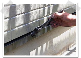 住宅 トタン水切り 上塗り