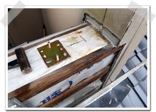 腐食はなく、防止シートも機能しているので、外壁のみ張り直せば、元通りに復元できることが分かりました。