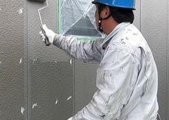 住宅外壁 サイディングのフッ素樹脂塗装