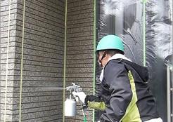 住宅外壁 サイディングの仕上げ塗装