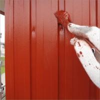 富山県高岡市 住宅塗り替え 外壁のサビ止め塗装
