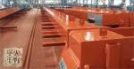 鉄工所さんで大型工場 柱と梁のサビ止め塗装