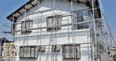 南砺市 住宅 外壁サイディング塗り替え 下塗り