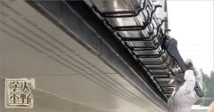 住宅 雨樋の塗り替え