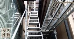 富山県高岡市 住宅 外壁塗り替え 仮設足場の設置