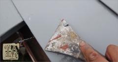 富山市呉羽 住宅屋根 塗り替え後の不具合修復