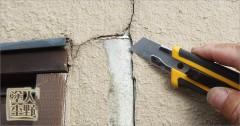 富山県砺波市 住宅塗り替え 湿気ではがれた外壁の下地処理