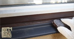 富山県砺波市 住宅塗り替え 金属部分の下地処理
