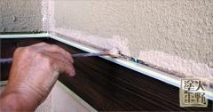 富山県砺波市 住宅塗り替え 外壁の中塗り
