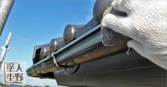 富山市舟橋村 住宅 外壁塗り替え 雨樋・換気扇フードの下地処理